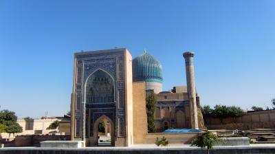 ウズベキスタン サマルカンド Part 1