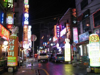 2011年8月 巨済島+釜山の旅 (1日目)