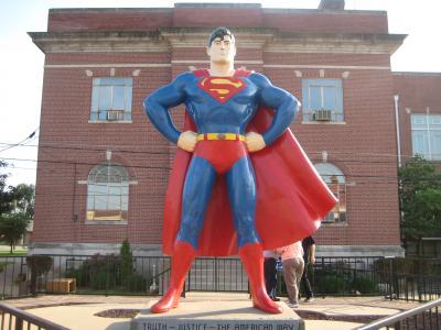 スーパーマンの故郷?