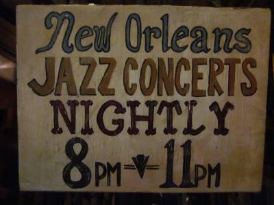 【2011 Summer holiday】Arrive for New Orleans (Presavation Hall)