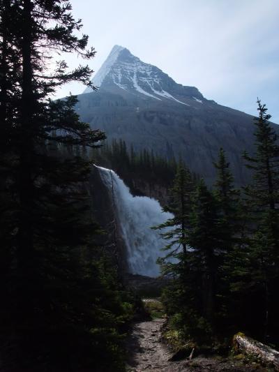 Good-Byeロブソン山/バーグ・レイク・トレイル(Berg Lake Trail)を一気に下る