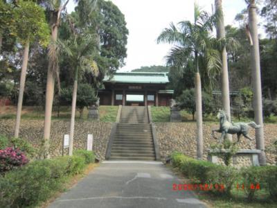 桃園に日本の神社が