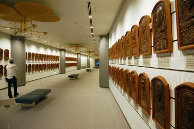 野球体育博物館に野球の原点を見る