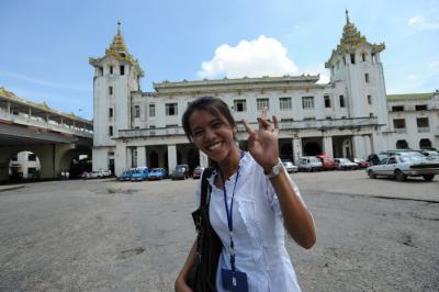 ミャンマーへの旅(ヤンゴン環状線)②