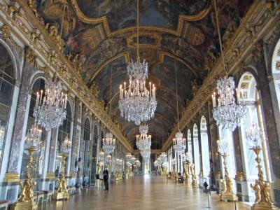 パリ&ロンドン 2011夏 ヴェルサイユ宮殿-宮殿編- ~鏡の回廊へ一番乗り~