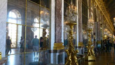 フランス はじめての一人旅  5.ヴェルサイユ宮殿