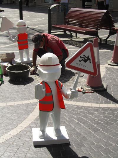 2011年コーカサス3カ国旅行第2日目(4)バクー:被写体尽きない新市街からカスピ海臨海公園へ