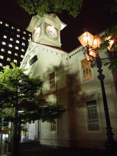 2011年 夏の北海道 ☆札幌の夜景散策☆