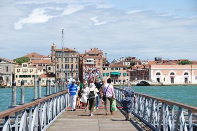 スイス・イタリア旅行2010 (21) 最終日: ベネチアでまったり  ゴンドラ遊覧
