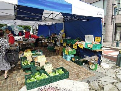 野菜、お惣菜、お饅頭等販売している熊谷 『星川あおぞら市』に行ってきました!