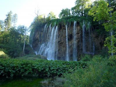 水が織りなす奇跡の絶景 プリトヴィッツエ湖群国立公園 Ⅲ ~2009年7月 アドリア海へハネムーン その14~