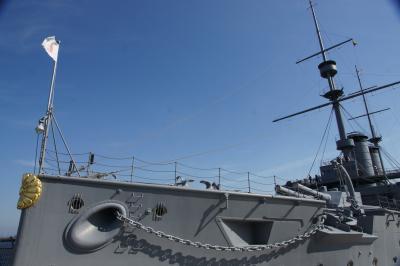 横須賀まで 戦艦三笠を見にいきます