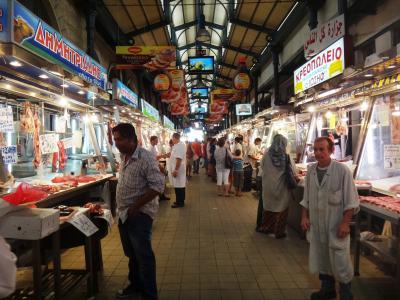 アテネの町歩き(買物)