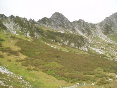 中央アルプス2005登山記