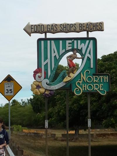 Cクラスで行く恒例のハワイ ハレクラニ&DELTA 珍しくノースショアーへ