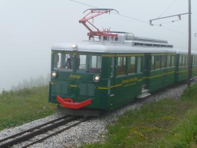 2011年フランス旅行【2】モンブラン・トラムウェイ
