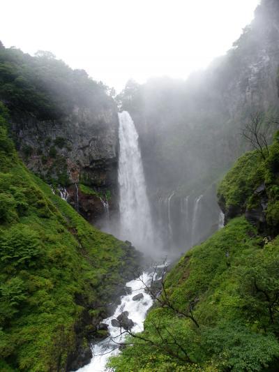 日本三名瀑・日本の滝百選『華厳の滝』◆2011夏・栃木県&群馬県の滝めぐり≪その10≫