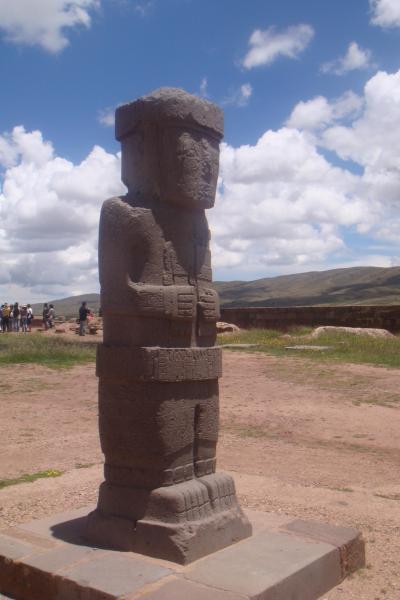 201002南米縦断の旅 ティワナク(ボリビア)