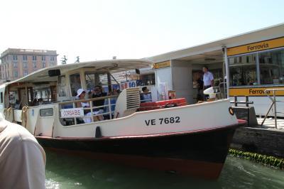 子連れ旅行 イタリア・ヴェネツィア ヴァポレット(水上バス)に乗るのだ-駅からサン・マルコ広場近くのホテルまで