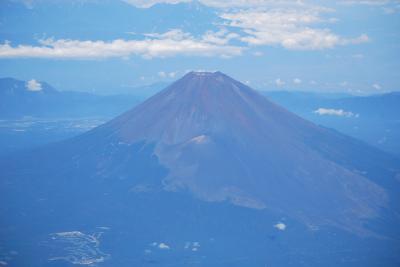 美しい夏富士を空撮