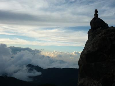 岩稜地帯を歩く 金峰山 瑞牆山 1日目
