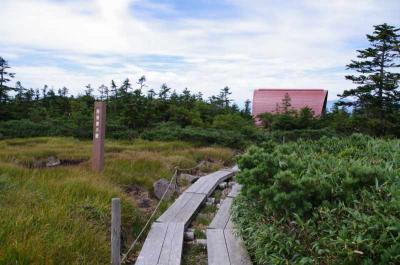 白布・天元台から吾妻山を越えて裏磐梯へ    その①