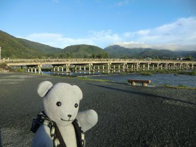 07京都嵐山温泉 花伝抄を探検する~動いて動いて食べる朝編~(プチ嵐山の旅最終)