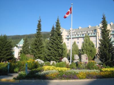 カナダ フェアモント・シャトー・ウィスラーホテルへ
