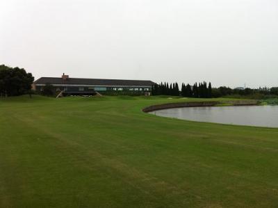 2011年秋の上海ゴルフクラブ