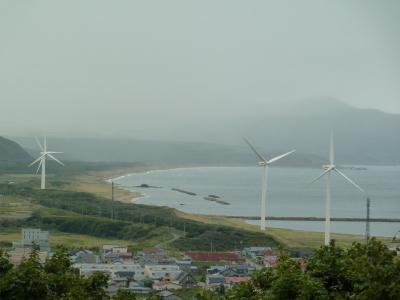 2011年:奥尻島への旅1日目、かにめしと瀬棚町