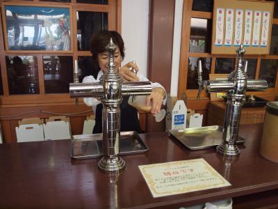 箱根仙石原すすき野原を通り宇佐美へ、宇佐美地ビール デリ・カフェさんでの美味しいカレーバイキングと宇佐美地ビール飲み放題 2011年9月