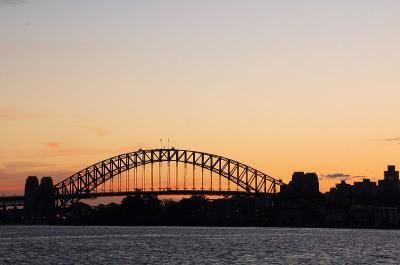 シドニーの夕焼け