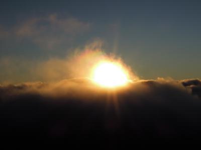 """ハワイ4島クルーズ NCL """"Pride of America""""に乗船 ③Maui Haleakala のご来光を極寒の中で《Day3》"""