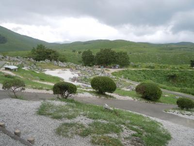 田舎での同窓会に合わせ、秋吉台、秋芳洞、雪舟庭、湯田温泉を楽しむ!