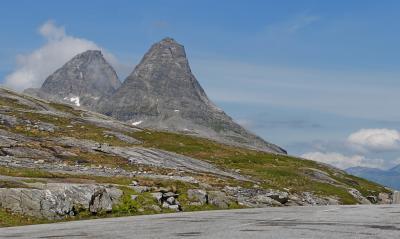 ノルウエーフィヨルド地帯1300kmドライブ12-Trollstingen(トロルのはしご段)1,Andalsnes