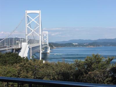 瀬戸大橋を渡り、子連れで鳴門・大塚美術館めぐり(1日目)