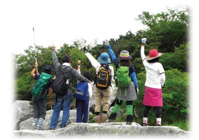 2011  木曽駒ヶ岳登山 仲間の印というのをやってみた。