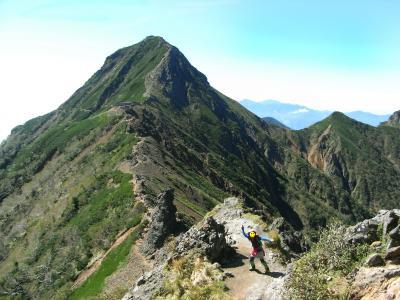 2011 八ヶ岳縦走登山 テントが凍った!