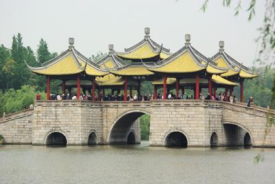 蘇州、同里と揚州、古典園林を巡る旅(その3、揚州痩西湖)