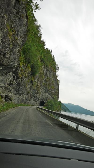 ノルウエーフィヨルド地帯1300kmドライブ14-Geirangerからの帰途,Utvikまで(4/5日目)