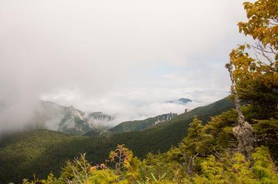 2011年 日本百名山「金峰山」 プチ紅葉めぐり
