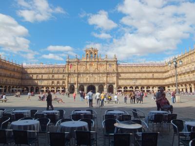 スペイン銀の道パラドール紀行: サラマンカ (プラザ・マヨール、大聖堂)