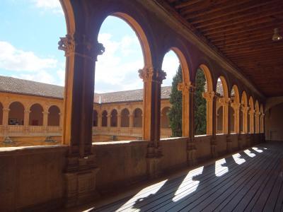 スペイン銀の道パラドール紀行: サラマンカ (ホテル、サン・エステバン修道院、トレイン、夜景)