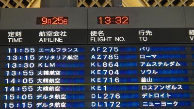 エールフランス航空のベタ遅れでミラノに到着できず、経由地のシャルルドゴール・パリ国際空港近くで宿泊