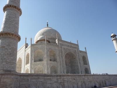 2011 10 インド 6世界遺産6日の旅 ①アグラ
