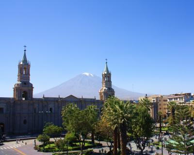 ペルー紀行(10) ミスティ山そびえる白い街アレキパと冒険の旅の終わり