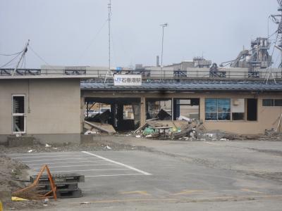 東日本大震災 石巻倉庫