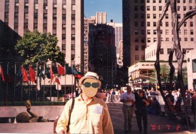 あーらーまぁー!!「バックストリートボーイズ路上ライブ!」2001年7月 9・11の2カ月前のNY