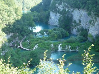 水が織りなす奇跡の絶景 プリトヴィッツエ湖群国立公園 Ⅳ ~2009年7月 アドリア海へハネムーン その15~