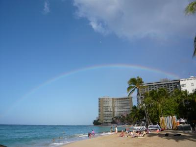 ハワイ旅行 2007 04:ダイヤモンドヘッドでサンライズを。そして最終日。